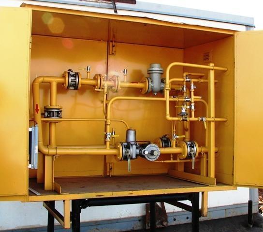 шкаф учёта расхода газа шуург